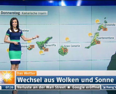 TV Moderatorin N24 Wetter