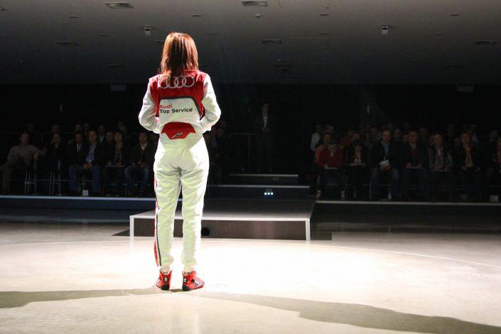 Event Moderatorin Audi
