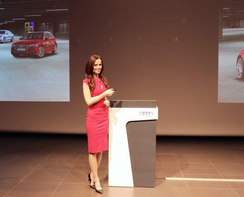 Audi Moderatorin Susanne Schöne in Mnchen