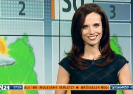 TV Moderatorin Susanne Schöne N24 Wetter Nachrichtensender in Berlin