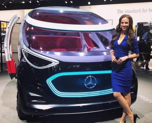 Moderatorin für Automobil, IT & Digitalisierung Susanne Schöne für Mercedes Benz in Hannover, Thema New Mobility