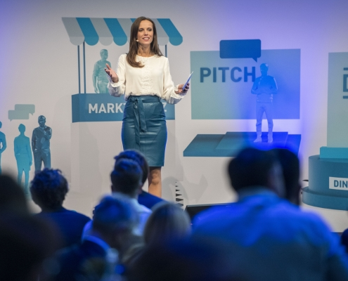 Eventmoderation DIN Connect Pitch