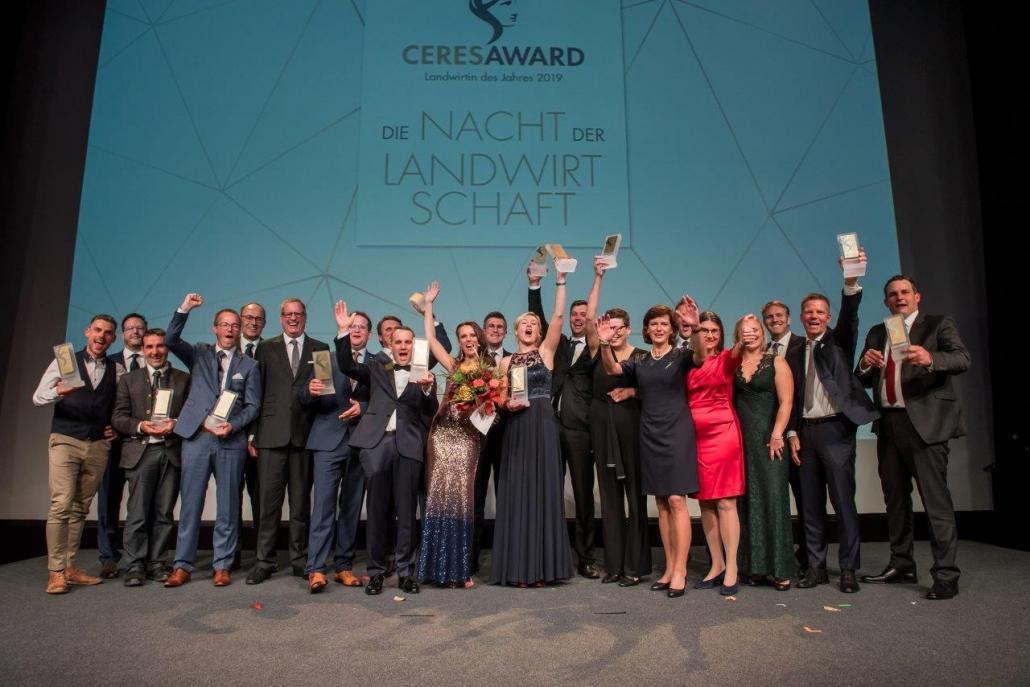 Moderatorin für die Landwirtschaft Susanne Schöne aus München moderiert bereits zum 4. Mal den Ceres Award in Berlin