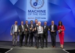 """Moderatorin Susanne Schöne moderiert die Award-BVerleihung """"Machine of the year 2020"""" im Bereuich Landwirtschaft und Landwirtschaftstechnik"""