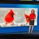 TV-Moderatorin Susanne Schöne moderiert fuer den Nachrichtensender N24 & den Entertainmentsender Pro7 das Wetter in Berlin und München